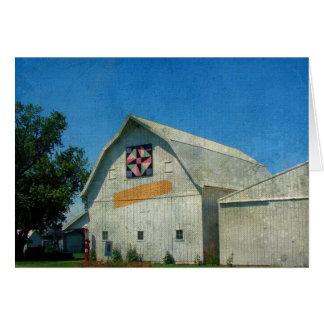 Rural Iowa Barn Birthday Card