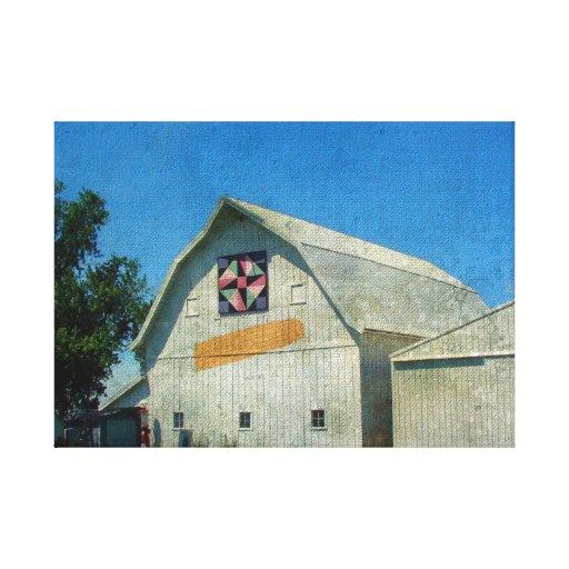 Rural Iowa Barn Canvas Print