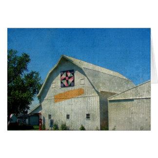 Rural Iowa Barn Card
