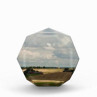 Rural landscape acrylic award
