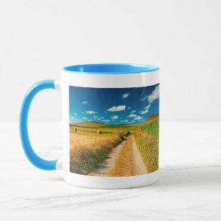 Rural landscape mug
