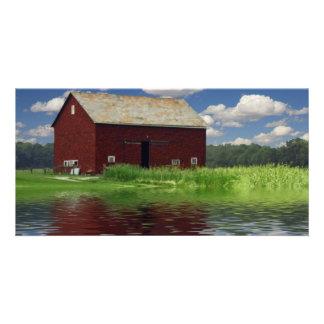 Rural Landscape Photo Card Template
