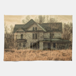 Rural Landscape Rustic Western Country Farmhouse Towel