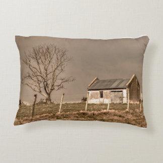 Rural Landscape Scene Decorative Pillow