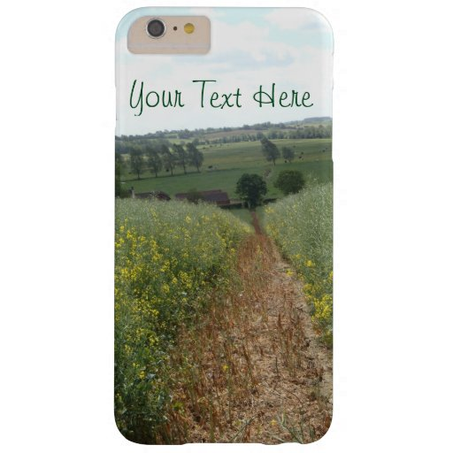 rural landscape scenic English countryside Barely There iPhone 6 Plus Case