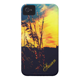 Rural Landscape Sunset iPhone 4 *Personalize* iPhone 4 Case
