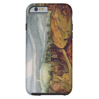 Rural Landscape with a Pilgrim Kneeling Before the Tough iPhone 6 Case