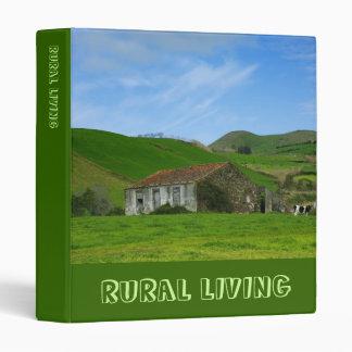 Rural life binder
