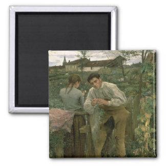 Rural Love, 1882 Magnet