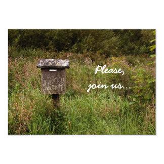 Rural mailbox invitation