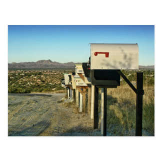 Rural Mailboxes Postcards