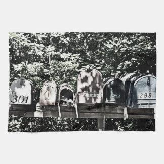 Rural Mailboxes Towel