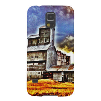 Rural Montana Country Grain Elevator Farmers Gift Galaxy S5 Case