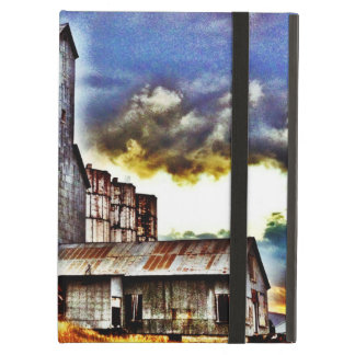 Rural Montana Country Grain Elevator Farmers Gift iPad Air Cover