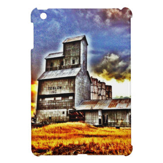 Rural Montana Country Grain Elevator Farmers Gift iPad Mini Covers