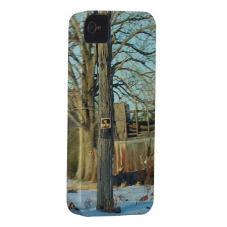 Rural NC Snow Scene Case-Mate iPhone 4 Case