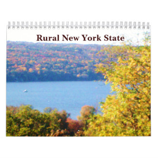 RURAL NEW YORK STATE calendar