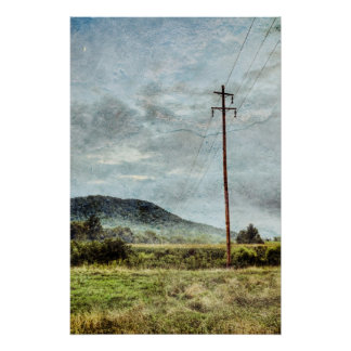 Rural North Carolina Poster