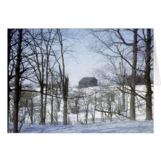 Rural Ontario Winter Greeting Card