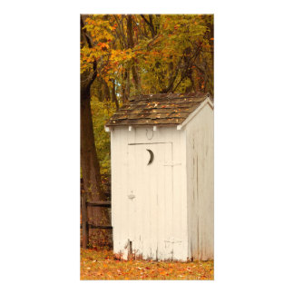 Rural - Outhouse - When nature calls Card