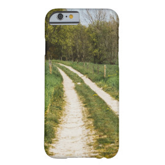 Rural Path In Green Spring Landscape Barely There iPhone 6 Case
