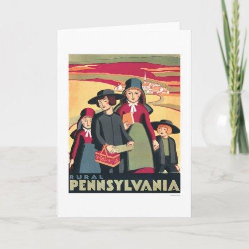 Rural Pennsylvania Amish 1939 WPA