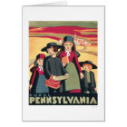 Rural Pennsylvania Amish 1939 WPA Card