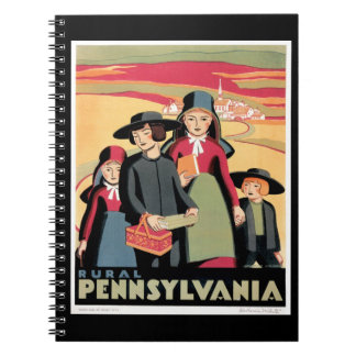 Rural Pennsylvania Spiral Notebook