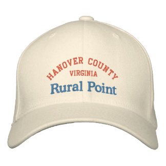 Rural Point Hanover County Embroidered Baseball Cap