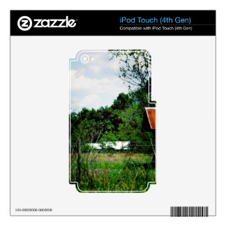 Rural Road iPod Touch 4G Skin