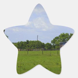 Rural Road Star Sticker