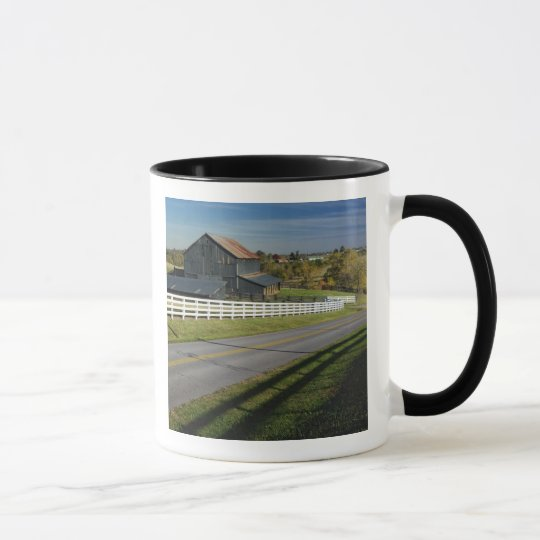 Rural road through Bluegrass region of 2 Mug