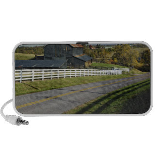 Rural road through Bluegrass region of 2 iPod Speaker