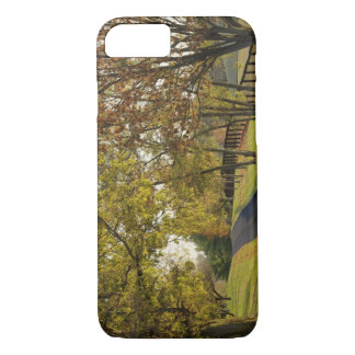 Rural road through Bluegrass region of Kentucky 2 iPhone 8/7 Case