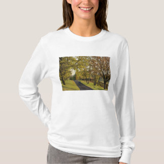 Rural road through Bluegrass region of Kentucky 2 T-Shirt
