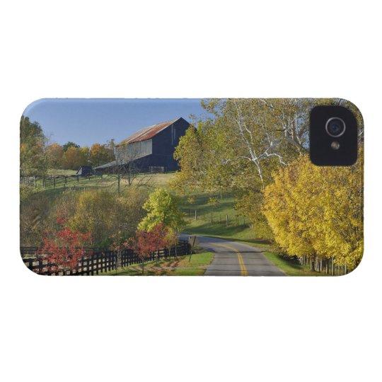 Rural road through Bluegrass region of Kentucky Case-Mate iPhone 4 Case