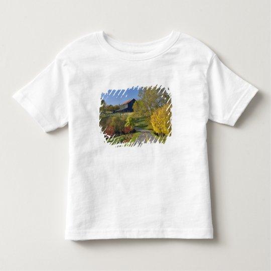 Rural road through Bluegrass region of Kentucky Toddler T-shirt