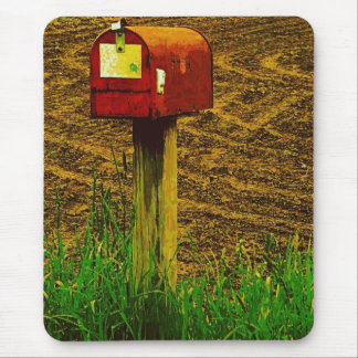 Rural Route Mailbox Mouse Pad
