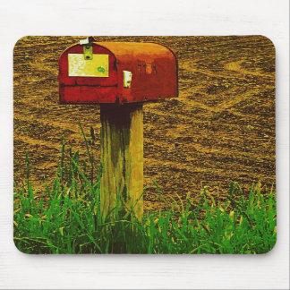 Rural Route Mailbox Mousepad