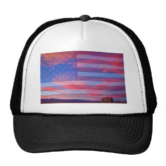 Rural Rustic America Trucker Hat