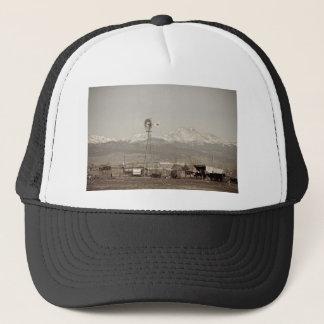Rural Rustic Colorado Longs Peak Country View Trucker Hat
