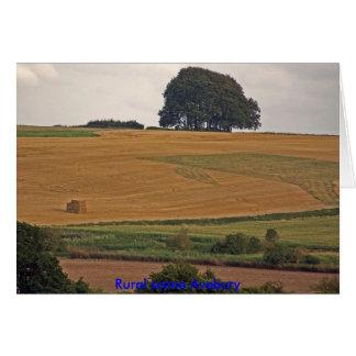 Rural scene Avebury Card