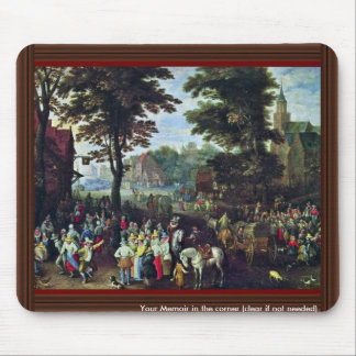 Rural Scene By Bruegel D. J. Pieter (Best Quality) Mouse Pad