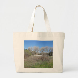 Rural Scene in Los Alamos, California Canvas Bag