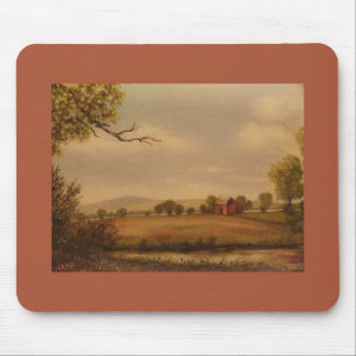 Rural Scene Mouse Pad