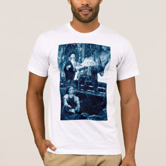 Rural scene with puppets T-Shirt