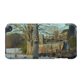 Rural Snow Scene - Wilson County, NC iPod Touch 5G Cover