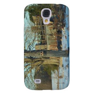 Rural Snow Scene - Wilson County, North Carolina Galaxy S4 Covers