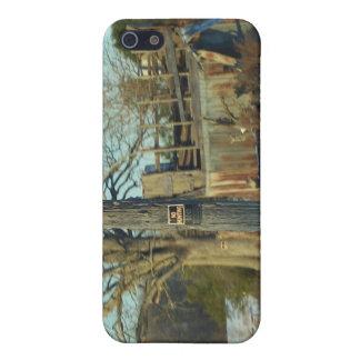 Rural Snow Scene - Wilson County, North Carolina iPhone SE/5/5s Case