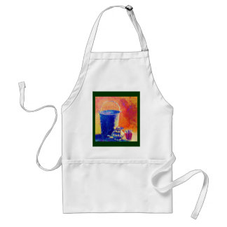 Rural Still Life -  No Water to Drink Apron